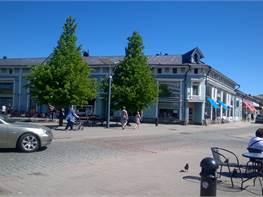 Toimitila, Kauppakatu 6 ja Savilakatu6, ydinkeskusta, Rauma