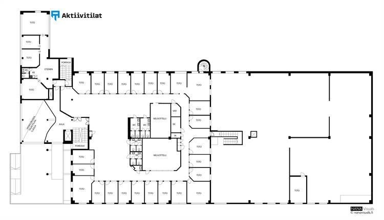 Planlösning Juvan teollisuuskatu 15 Juvanmalmi