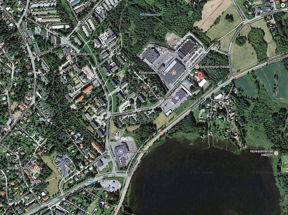 Toimitila, Ruununmyllyntie 16, Idänpää, Hämeenlinna