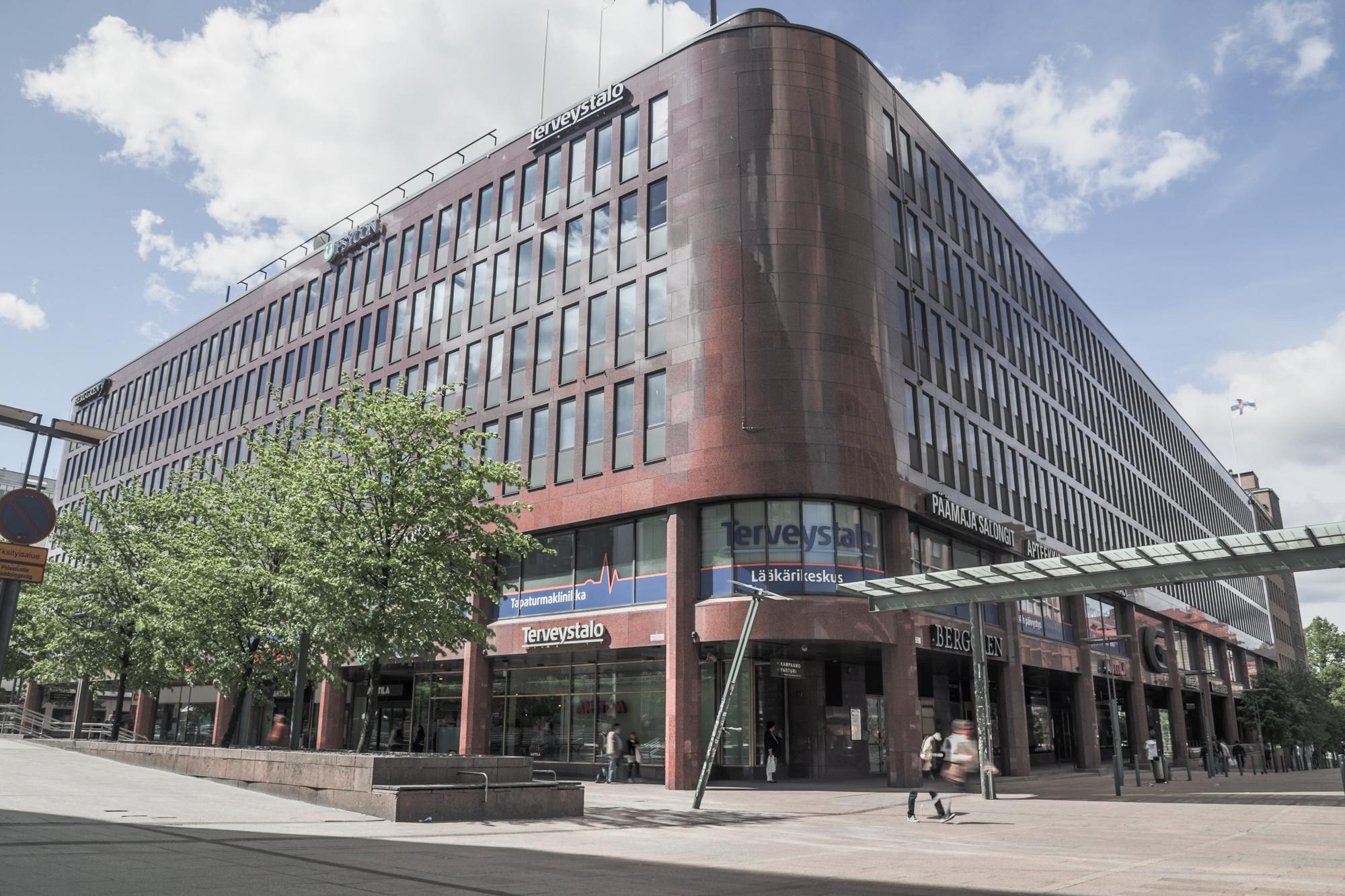 Toimitila, Jaakonkatu 3, Kamppi, Helsinki