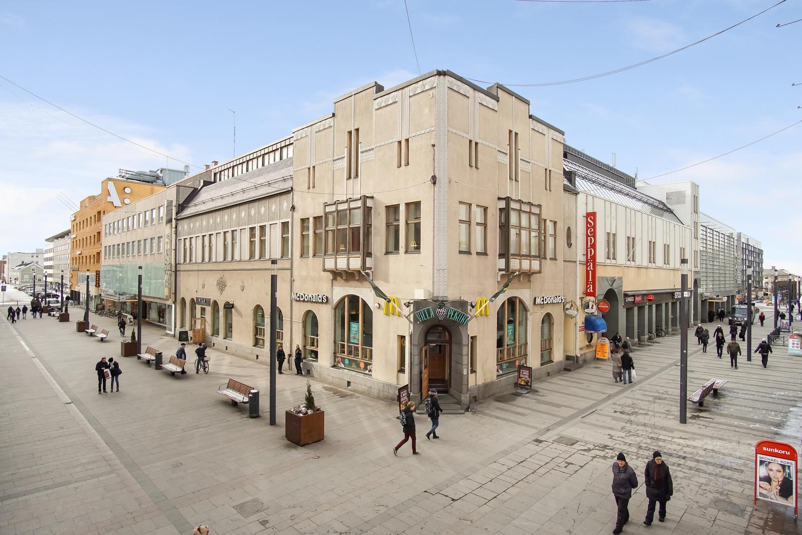 Toimitila, Kirkkokatu 12, Oulu, Oulu