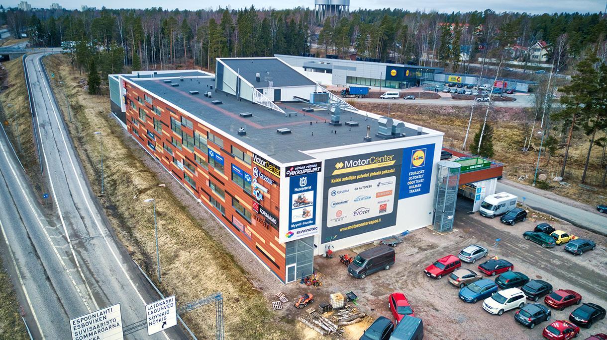 Toimitila, Sillankorva 15, Espoonlahti, Espoo