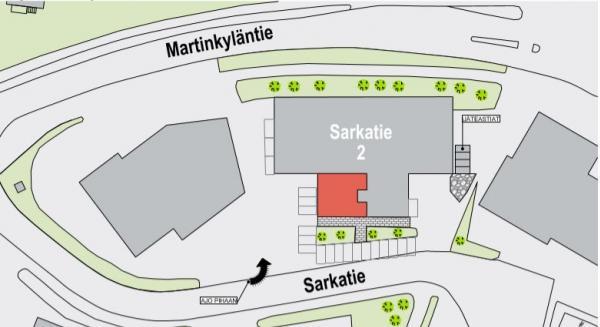 Sarkatie 2, Petikko, Vantaa