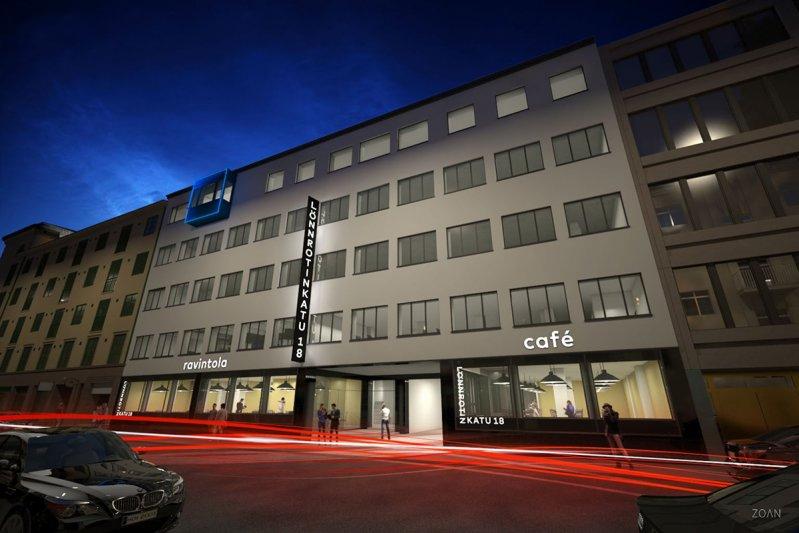 Lönnrotinkatu 18, Kamppi, Helsinki