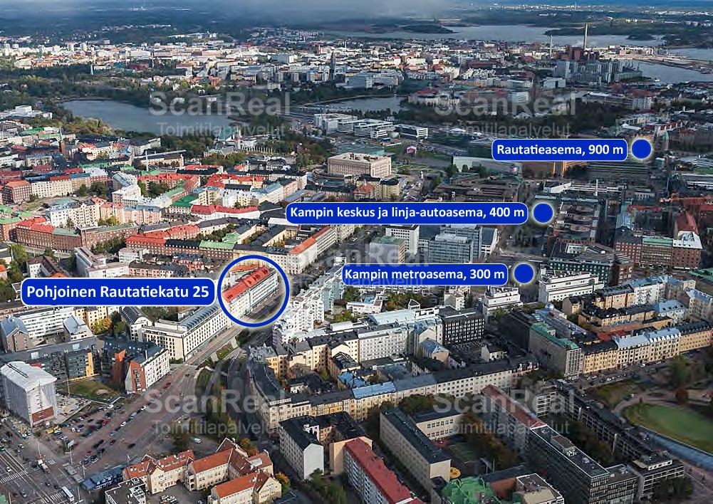 Pohjoinen Rautatiekatu 25, Kamppi, Helsinki