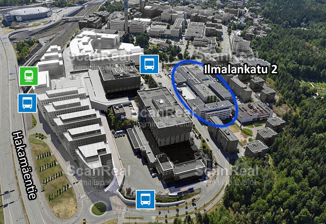 Ilmalankatu 2, Pasila, Helsinki