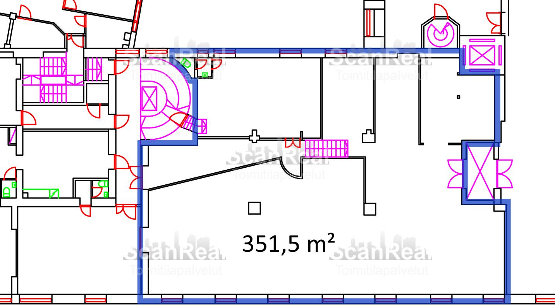 Planlösning Vanha Talvitie 11 Hermanni