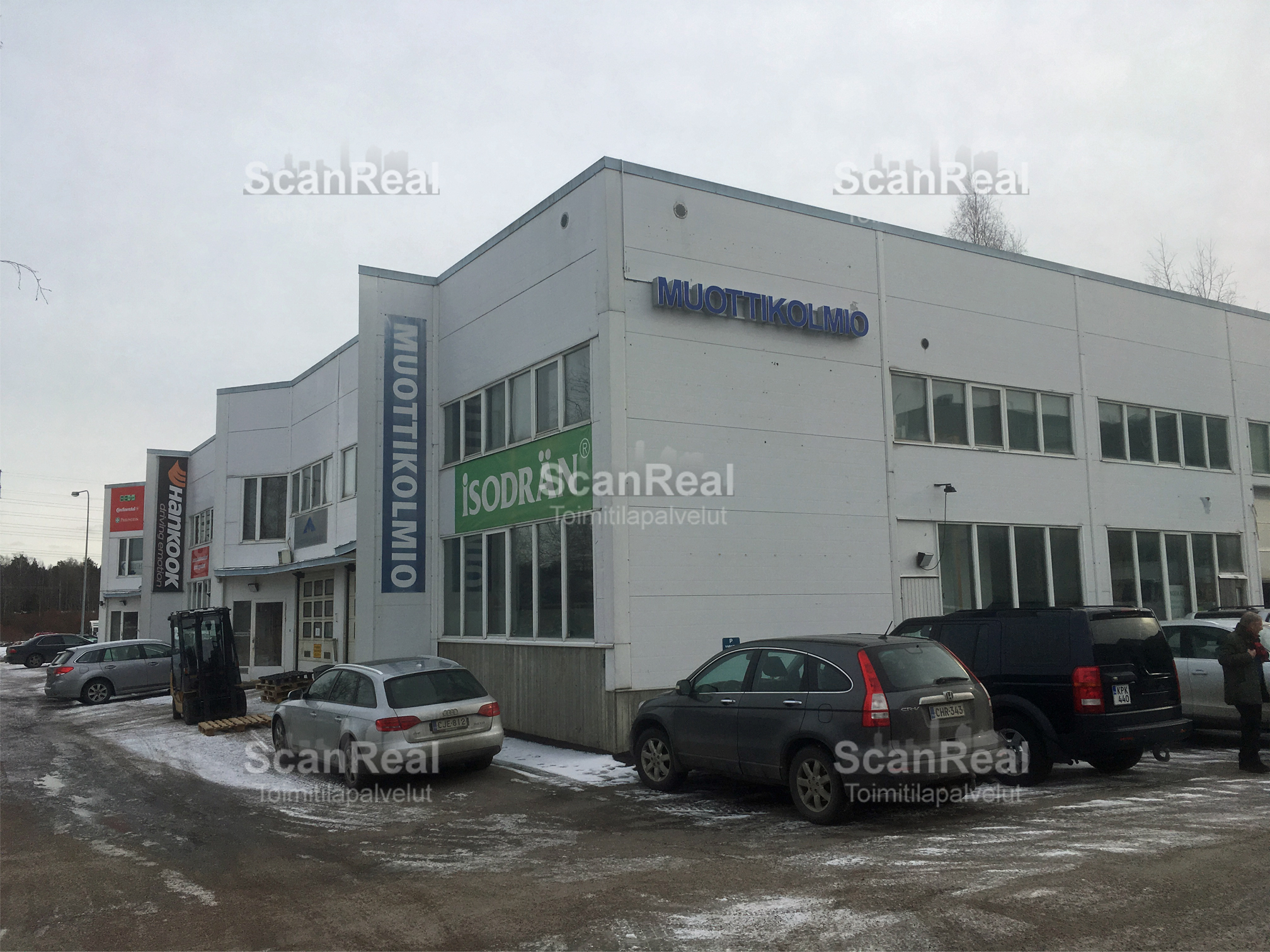 Toimitila, Finnoonniitynkuja 3, Suomenoja, Espoo