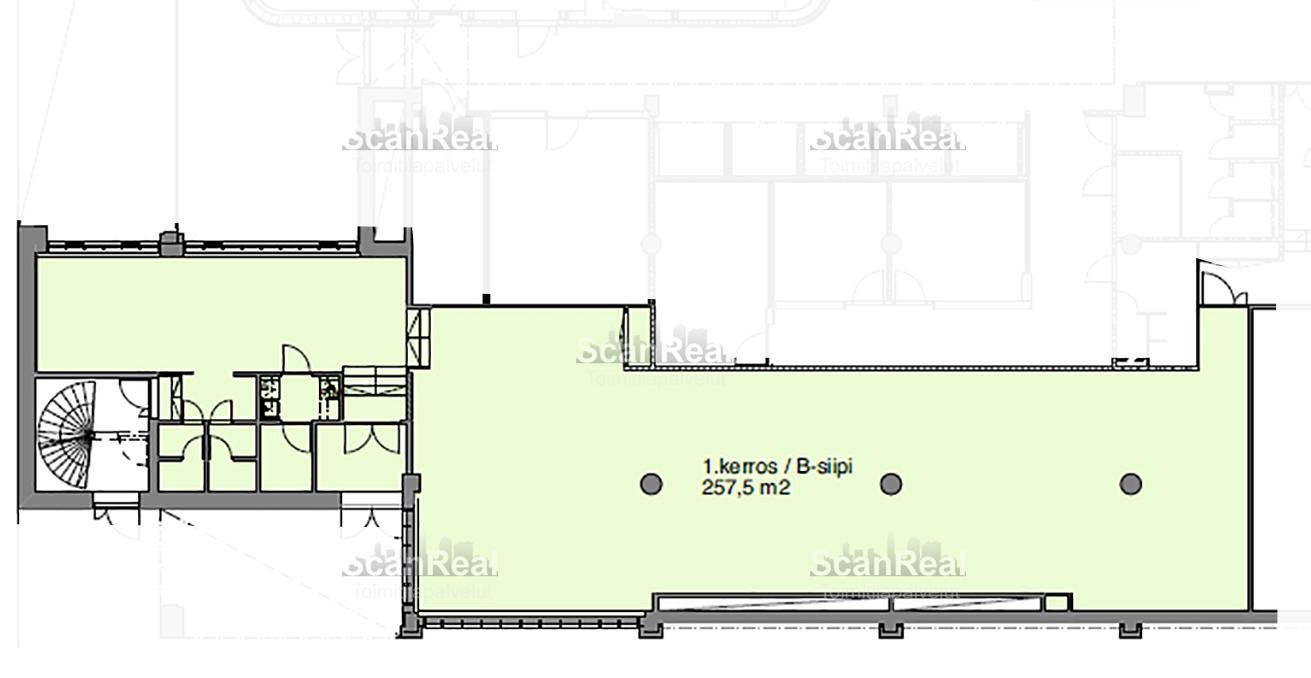 Planlösning Kyllikinportti 2 Pasila