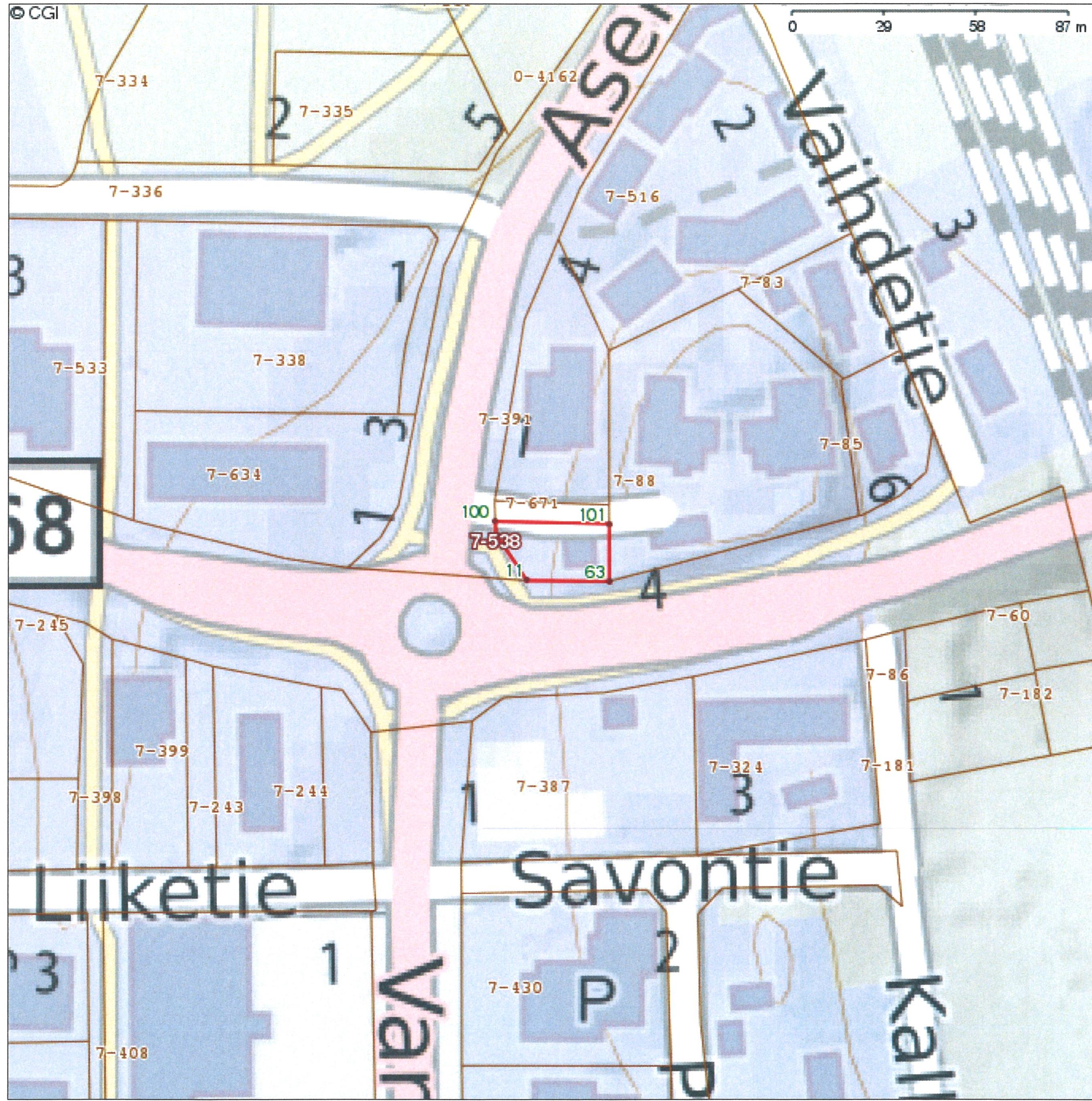 Harjulinnantie 2, Keskusta, Mäntyharju