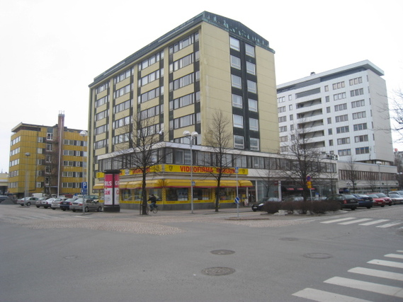 Hallituskatu 22-24 / Mäkelininkatu 26, Keskusta, Oulu