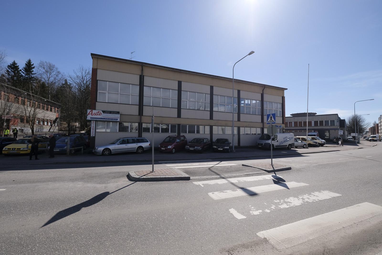 Toimitila, Sahaajankatu, Hertttoniemi, Helsinki