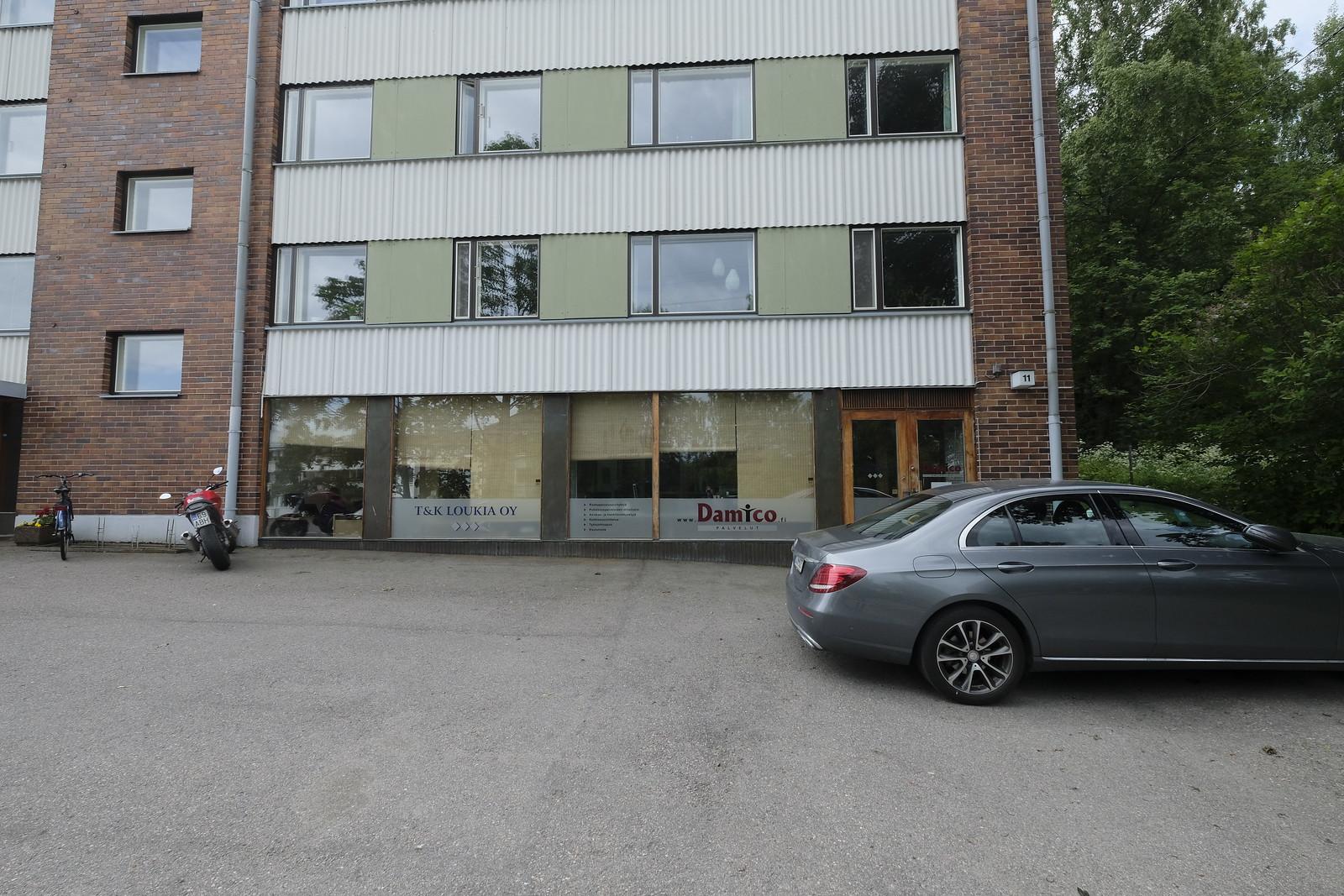 Toimitila, Svinhufvudintie 11, Kulosaari, Helsinki