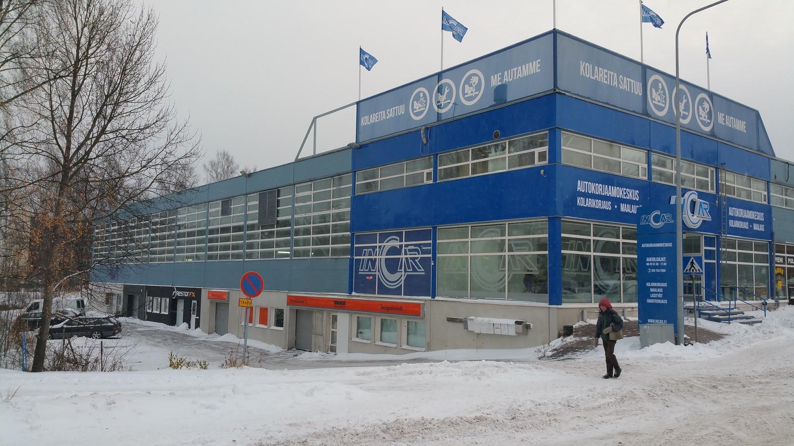 Mekaanikonkatu 5, Herttoniemi, Helsinki