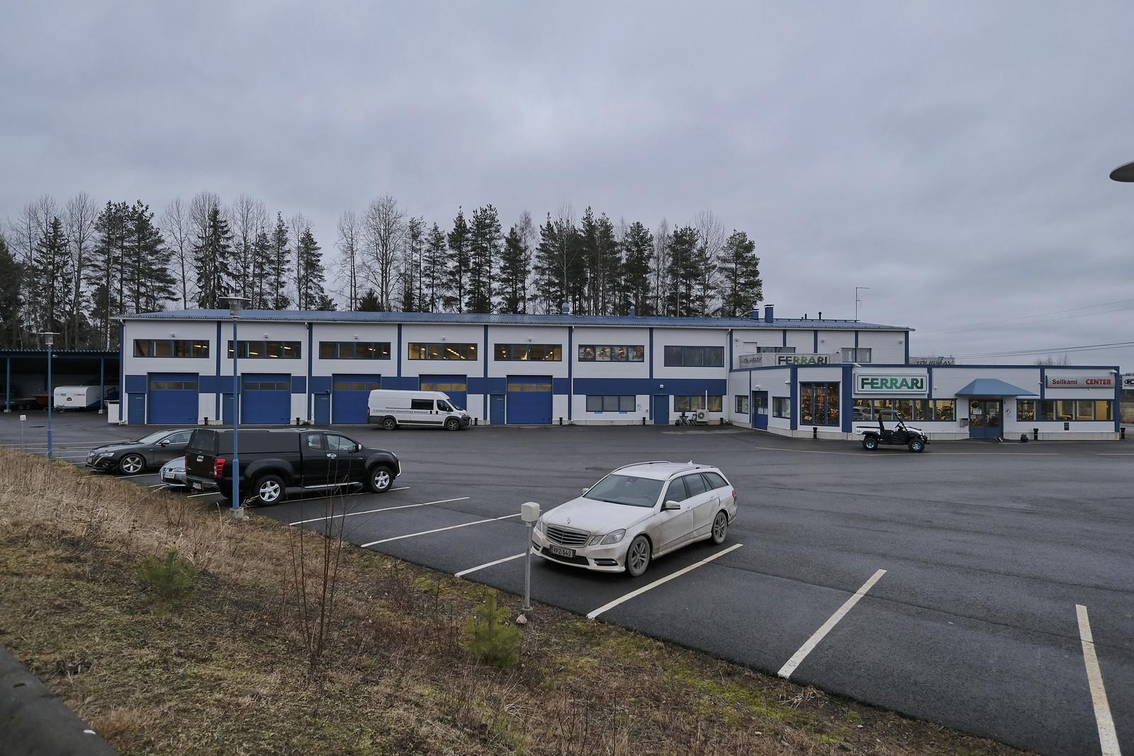 Toimitila, Vesakkotie 2, Nummela, Lankilanrinne, Vihti