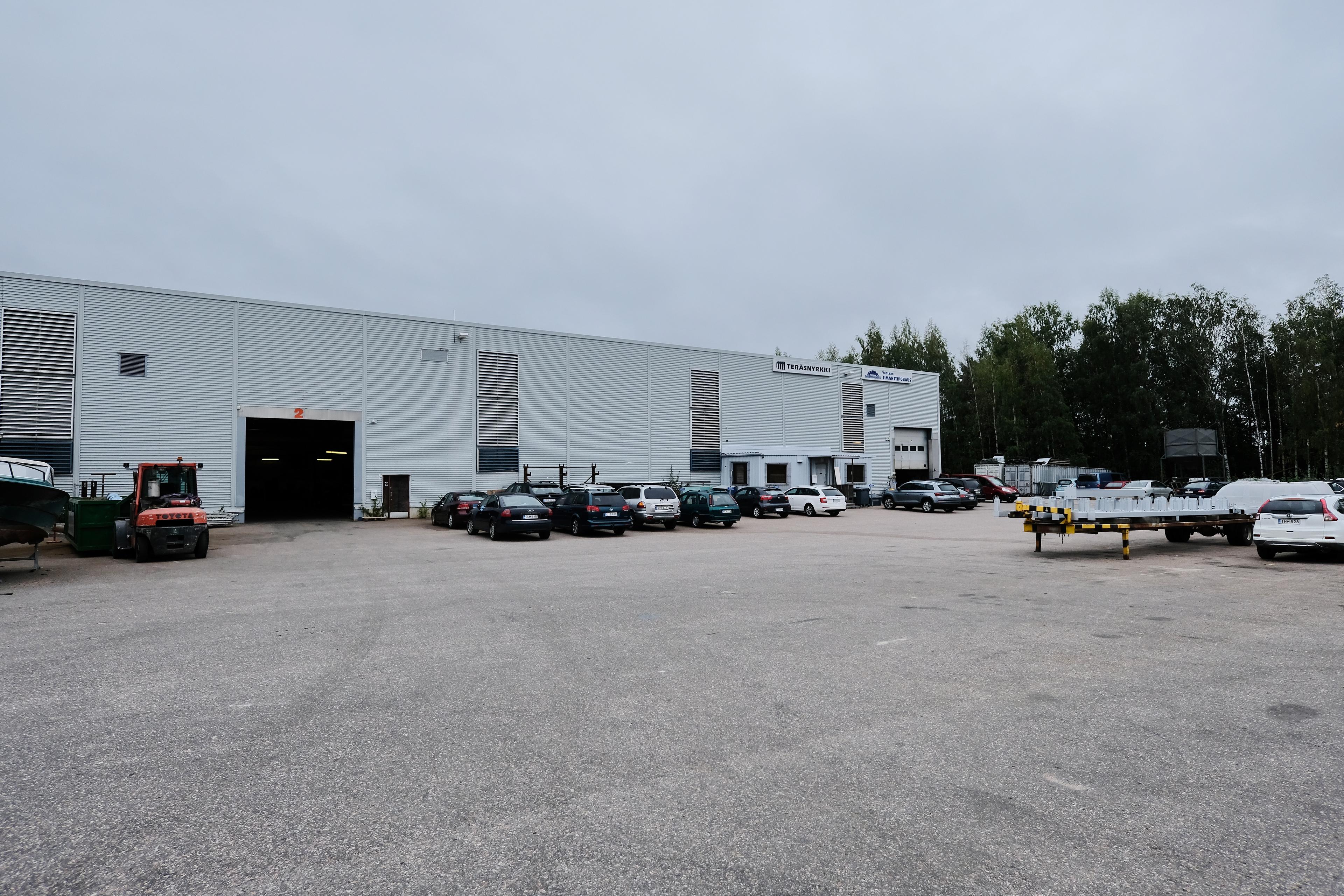 Toimitila, Linjatie 5, Itä-Hakkila, Vantaa