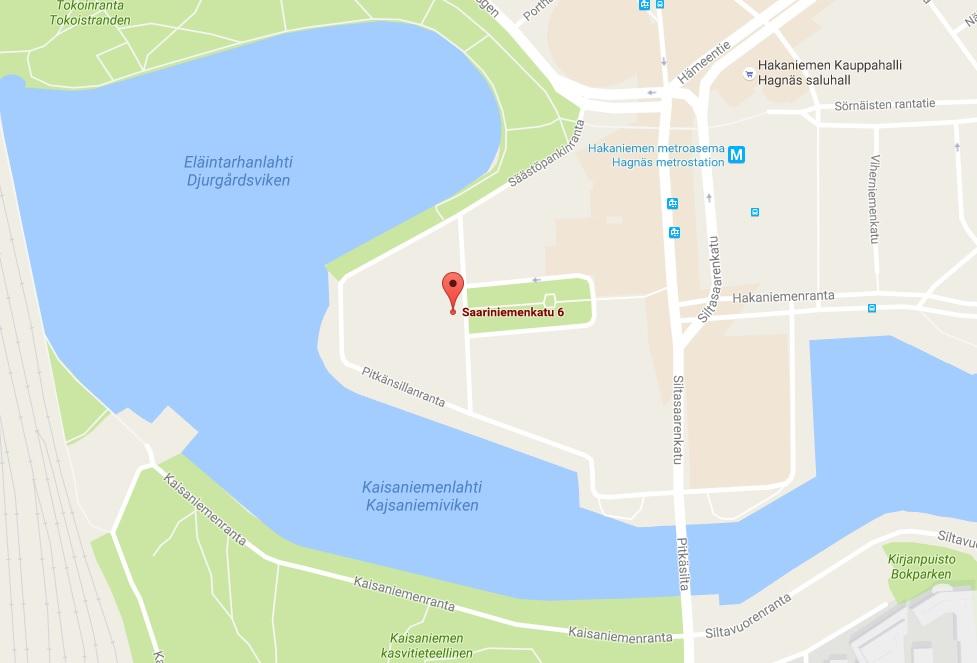 Toimitila, Saariniemenkatu 6, Hakaniemi, Helsinki