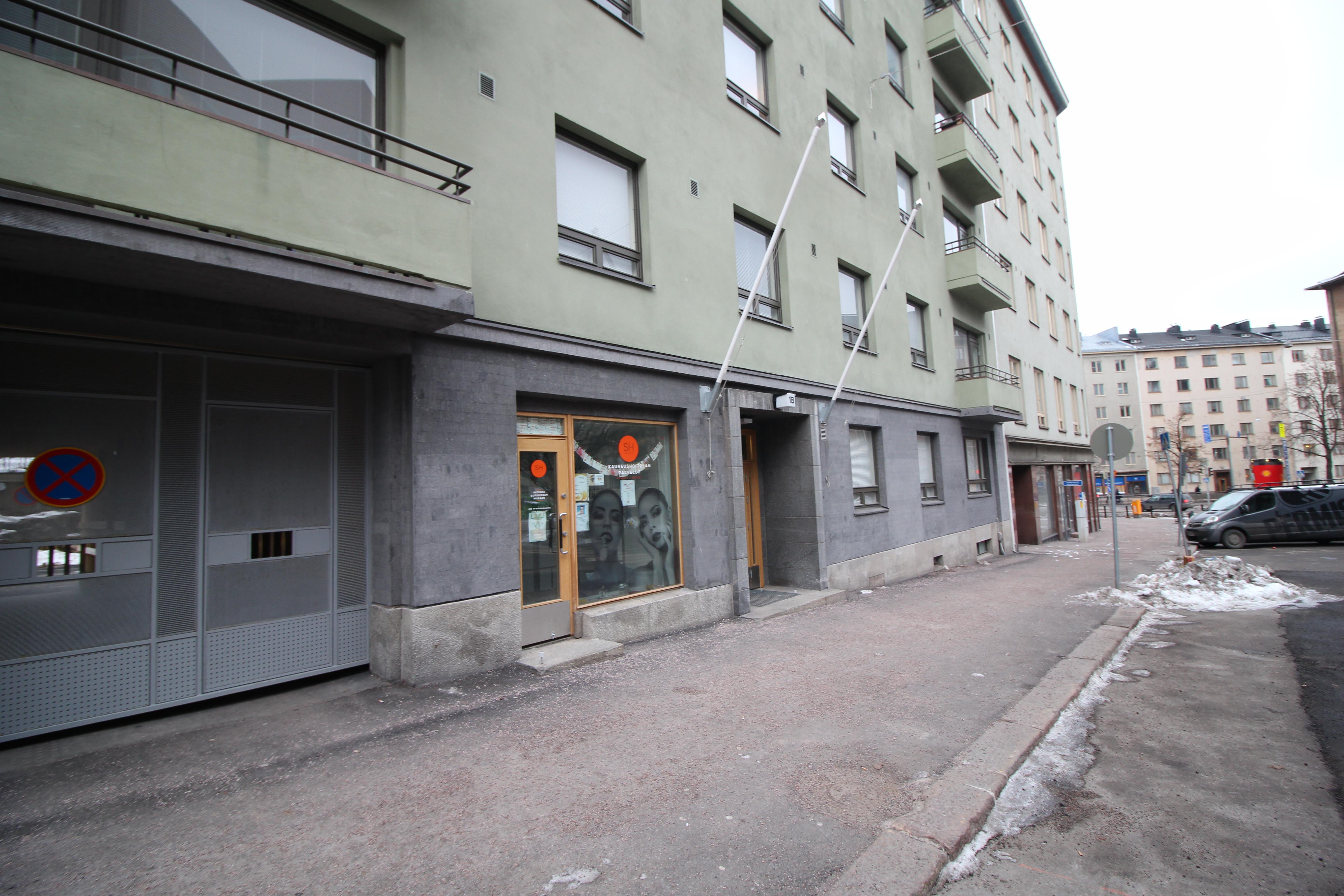 Toimitila, Messeniuksenkatu 1 b, Töölö, Helsinki