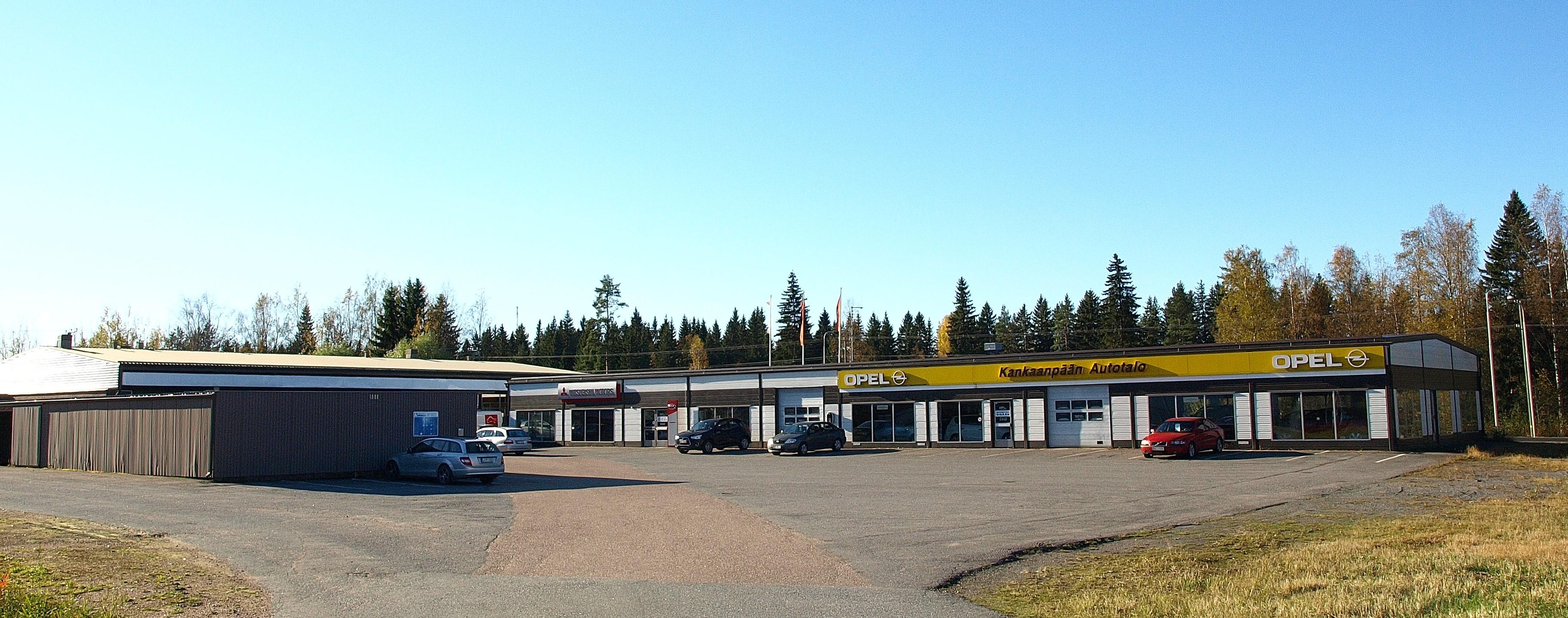 Toimitila, Hietikonkatu 3, Kankaanpää