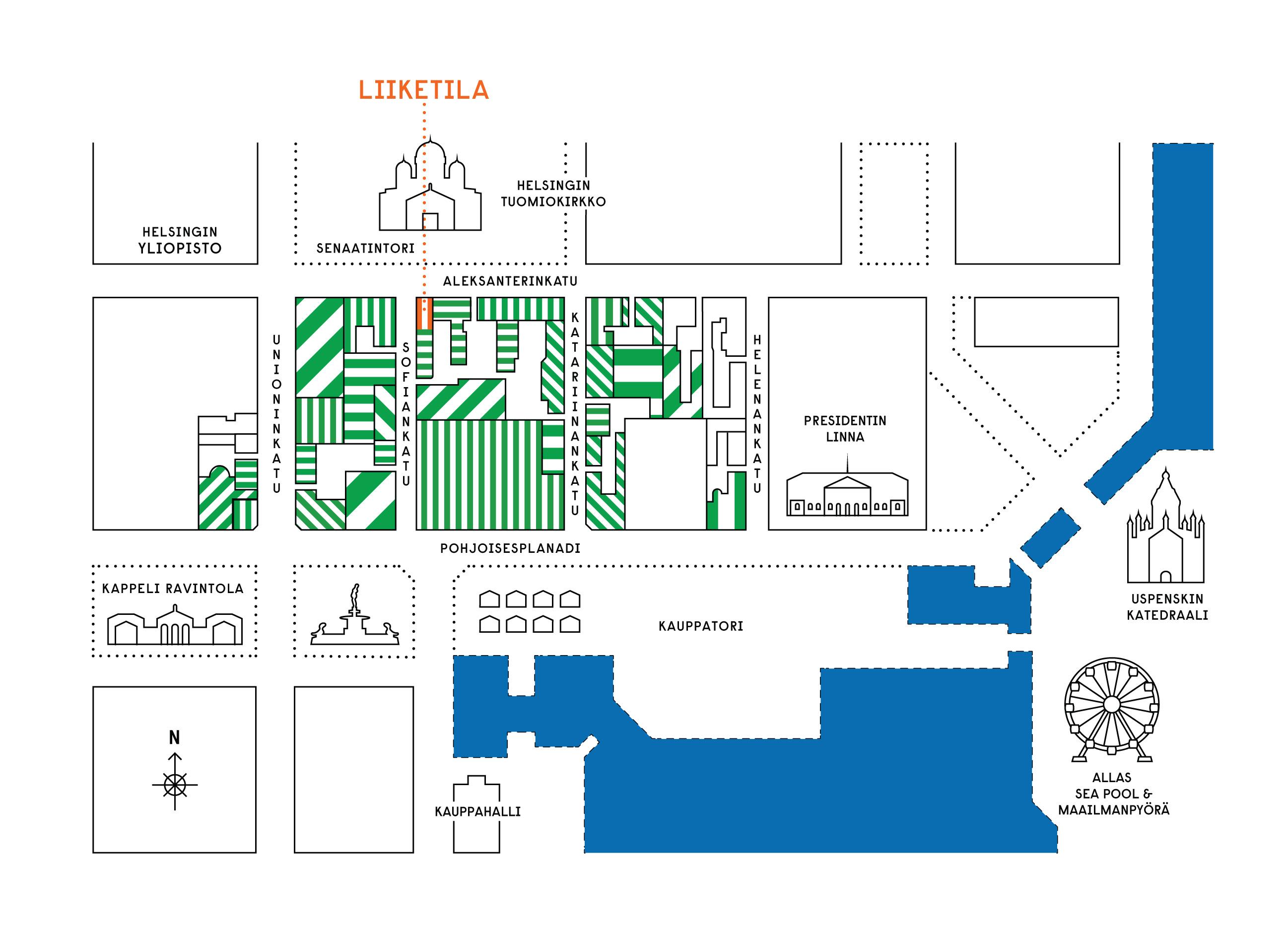 Aleksanterinkatu 22-24, keskusta, Helsinki
