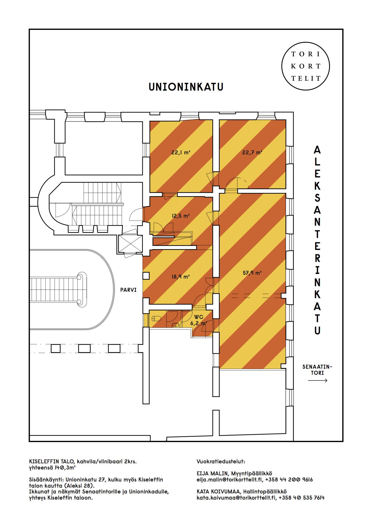Unioninkatu 27, Keskusta, Helsinki