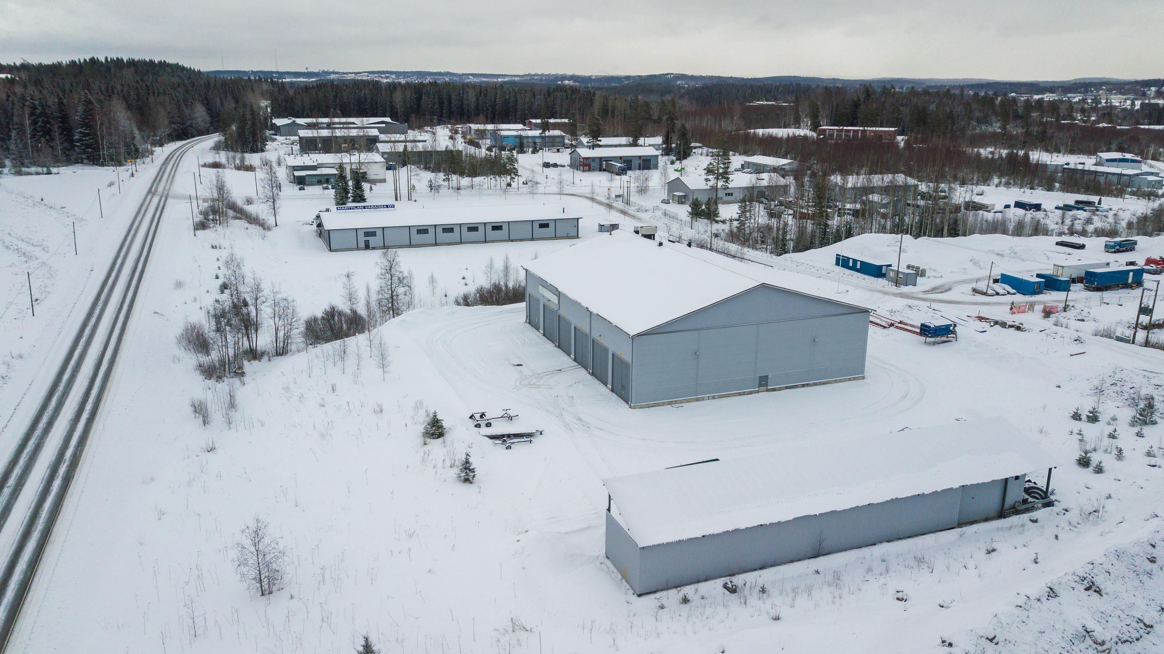 Toimitila, Moukarikatu 5, Jokimaan Yrityspuisto, Lahti