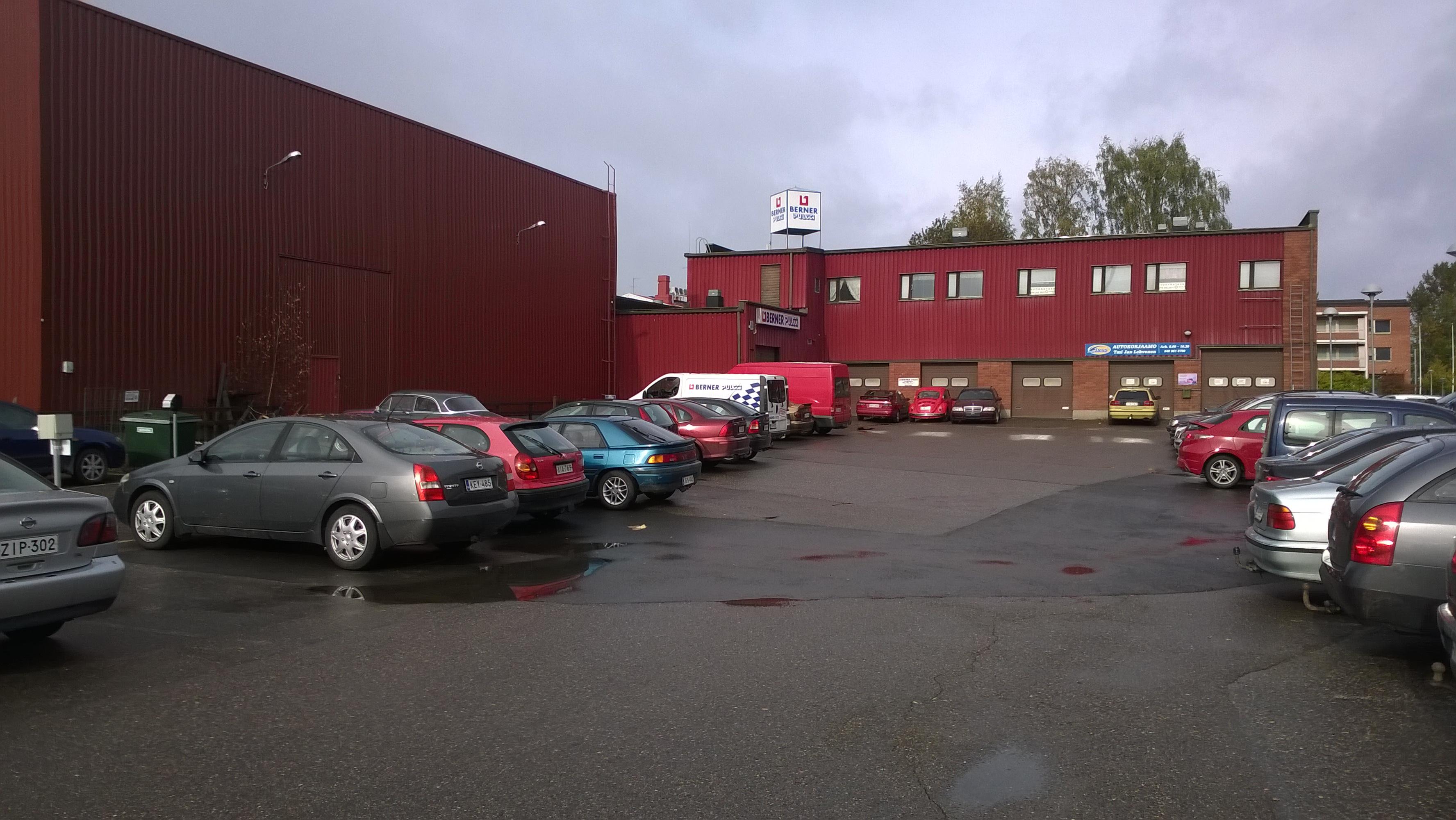 Toimitila, Tallikatu 3-5, Pieksämäen keskusta, Pieksämäki