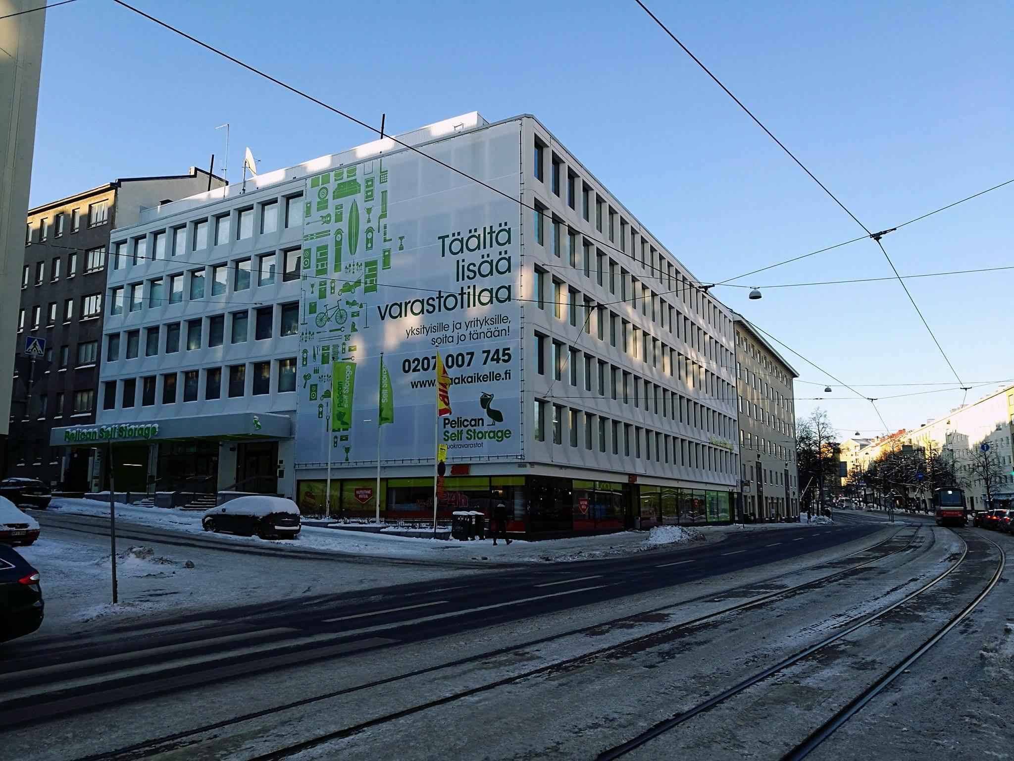 Toimitila, Mannerheimintie 102, Töölö, Helsinki