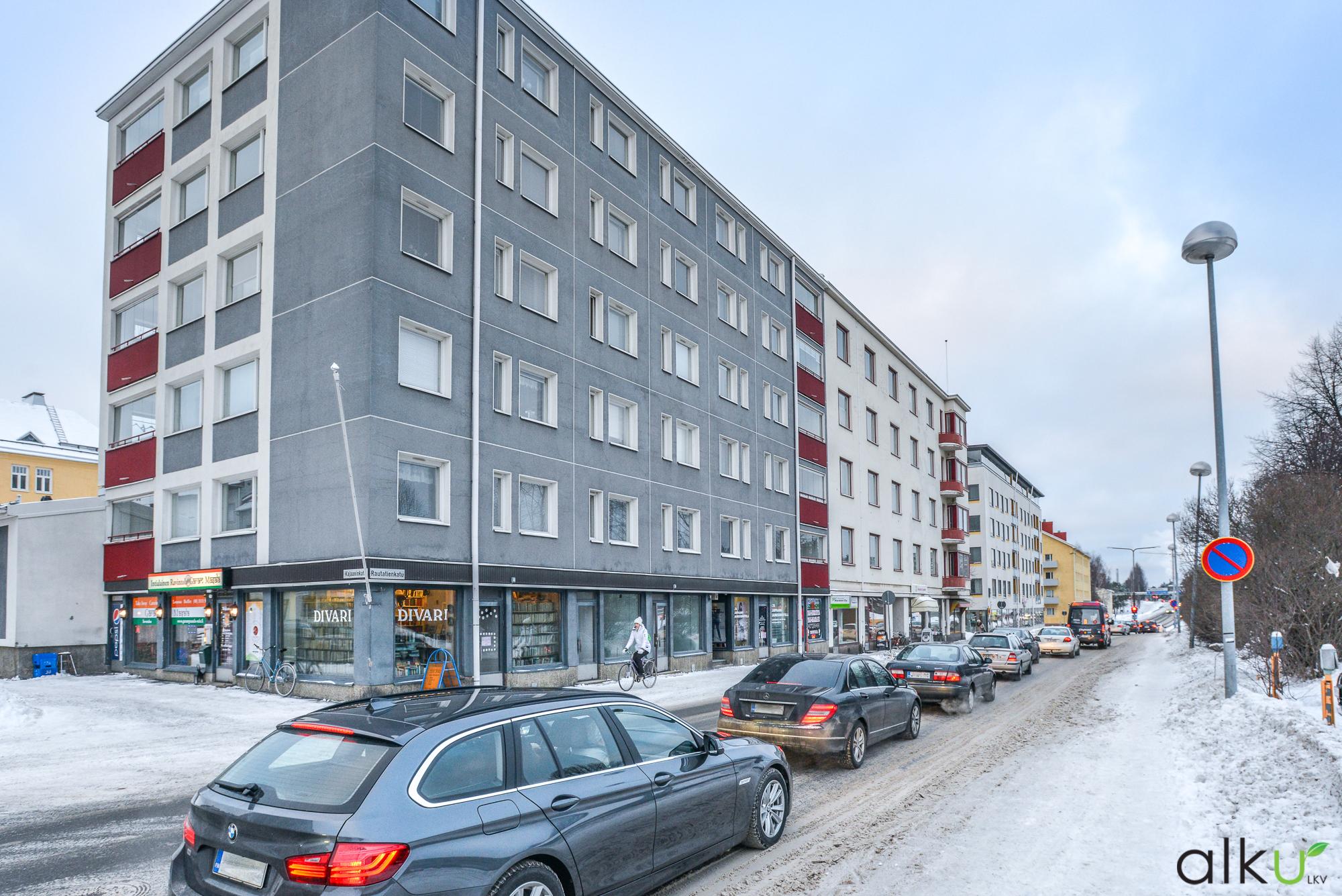 Toimitila, Rautatienkatu 6 L 4, Keskusta, Oulu