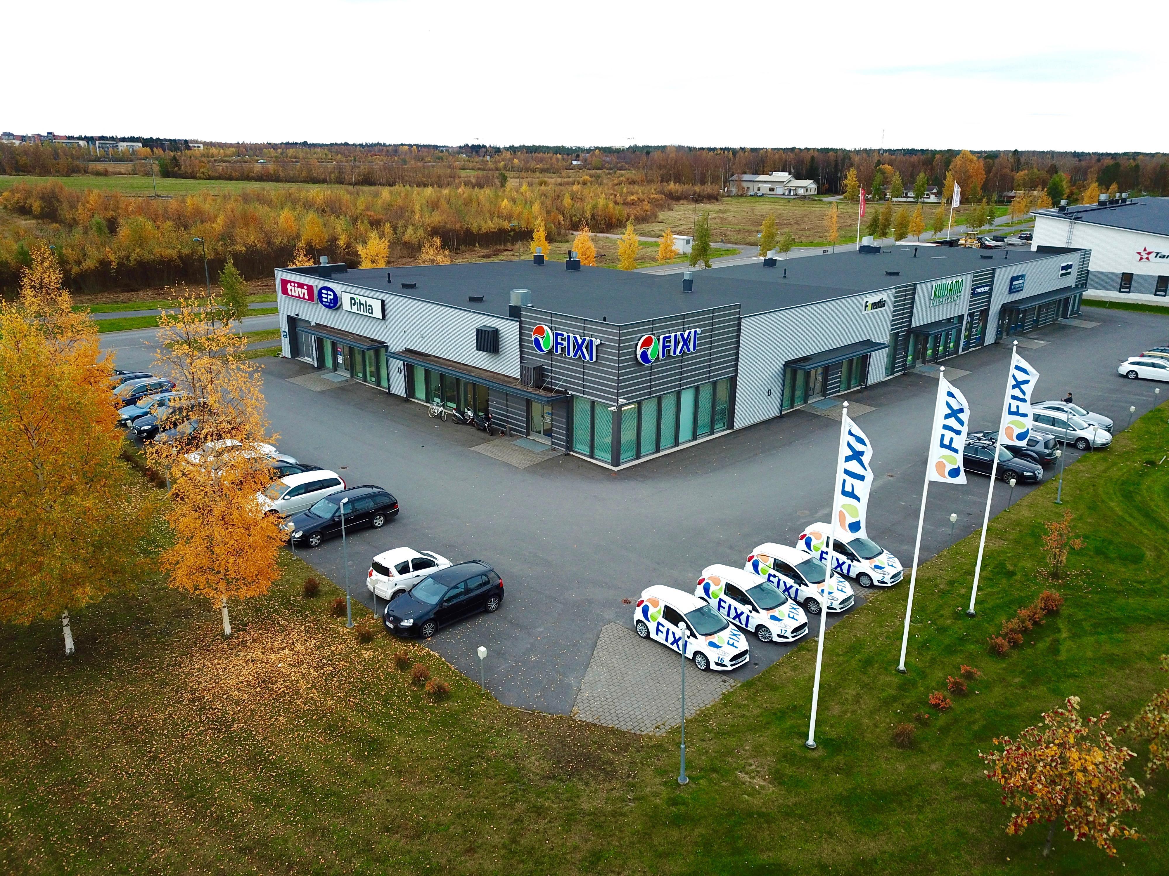 Toimitila, Idealinja 13, Vasaraperä/Oulun Portti, Oulu