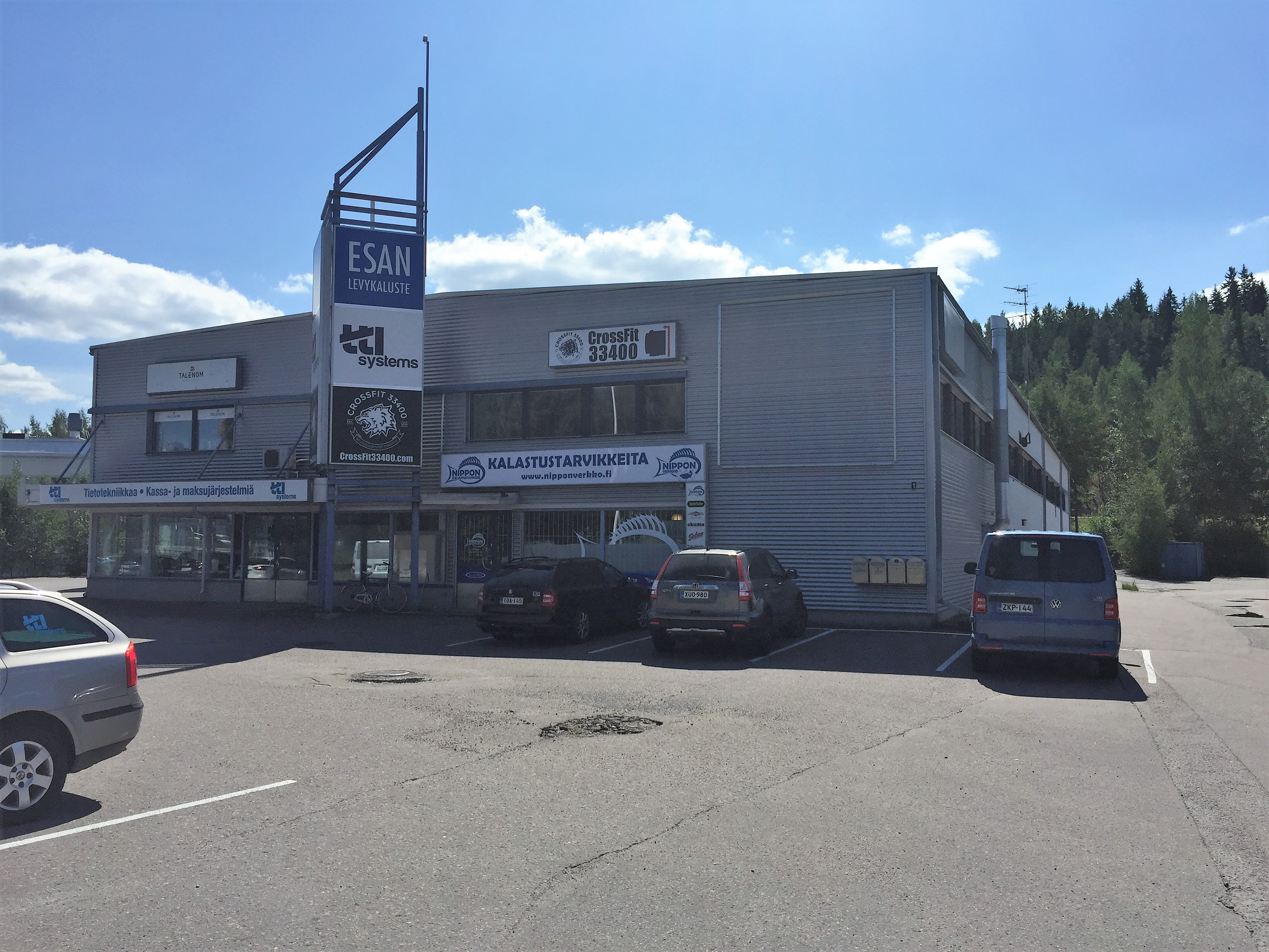 Toimitila, Harjuntausta 1, Lielahti, Tampere