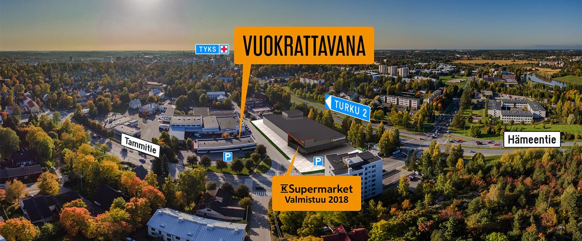 Toimitila, Tammitie 3, Nummi, Turku