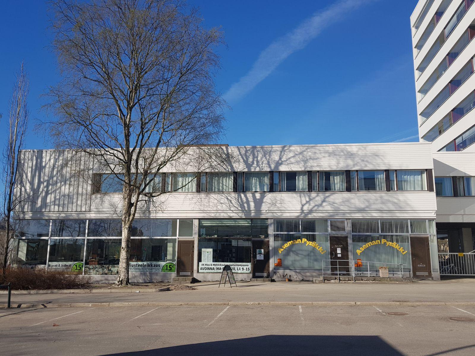 Toimitila, Hannikaisenkatu 27-29, Keskusta, Asema-aukio, Jyväskylä