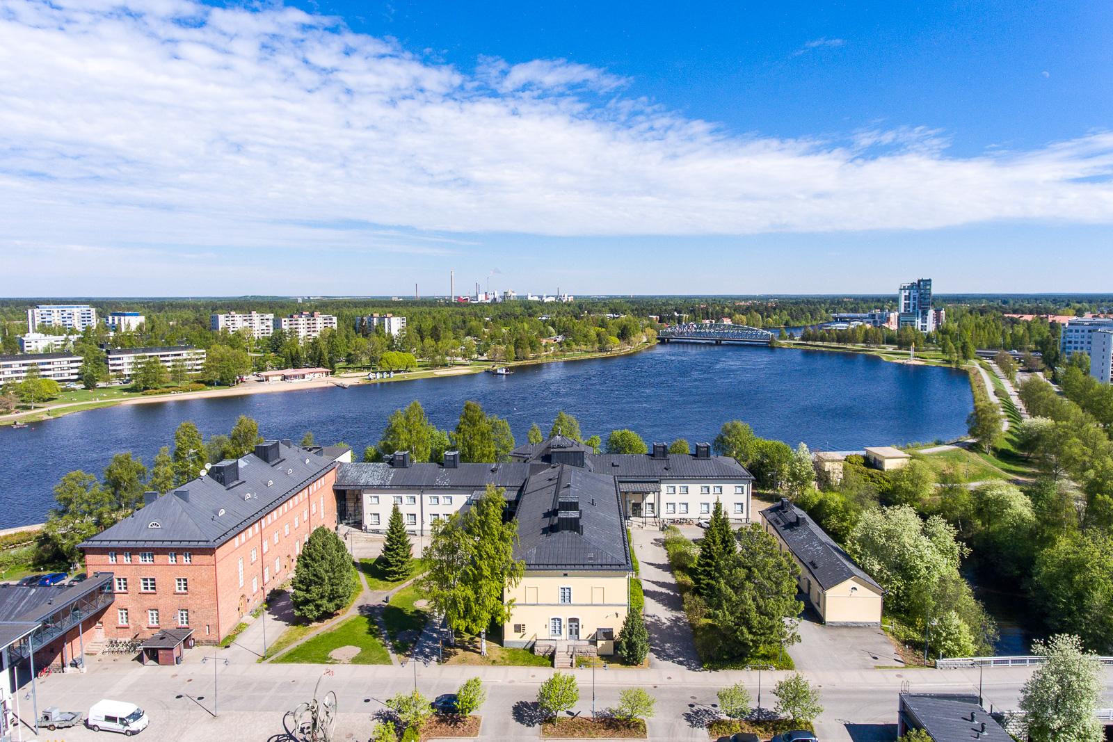 Toimitila, Kasarmintie 13D, Lasaretinsaari, Oulu