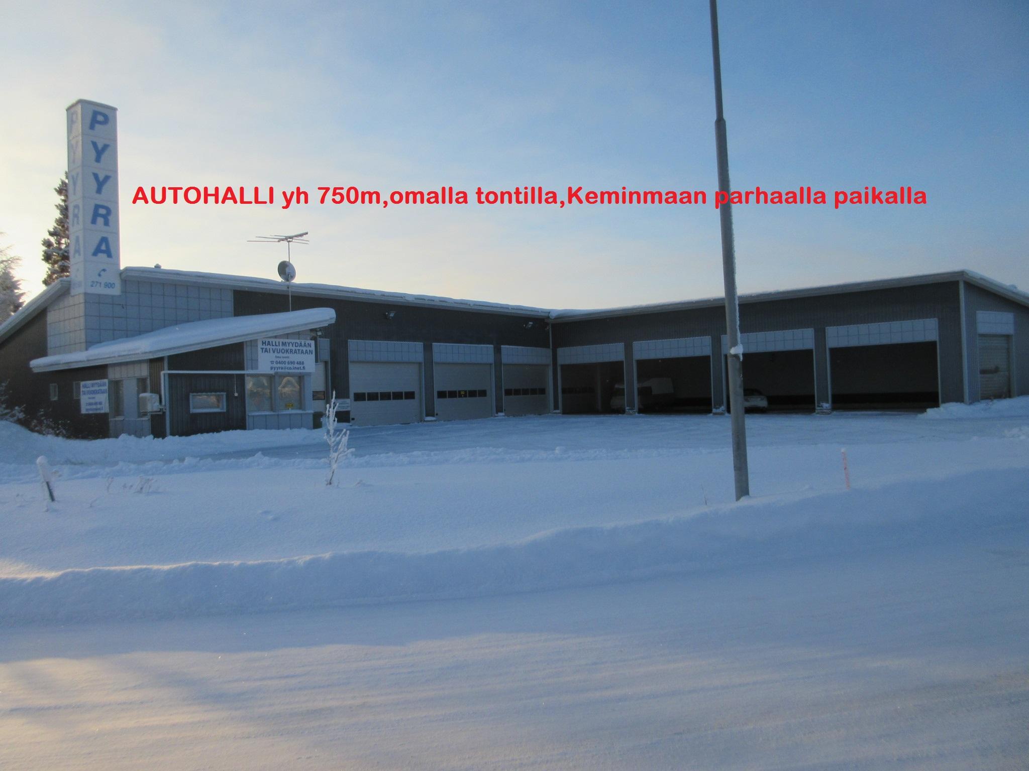 Toimitila, teollisuuskylänraitti 3, Autoliike/teollisuus, Keminmaa
