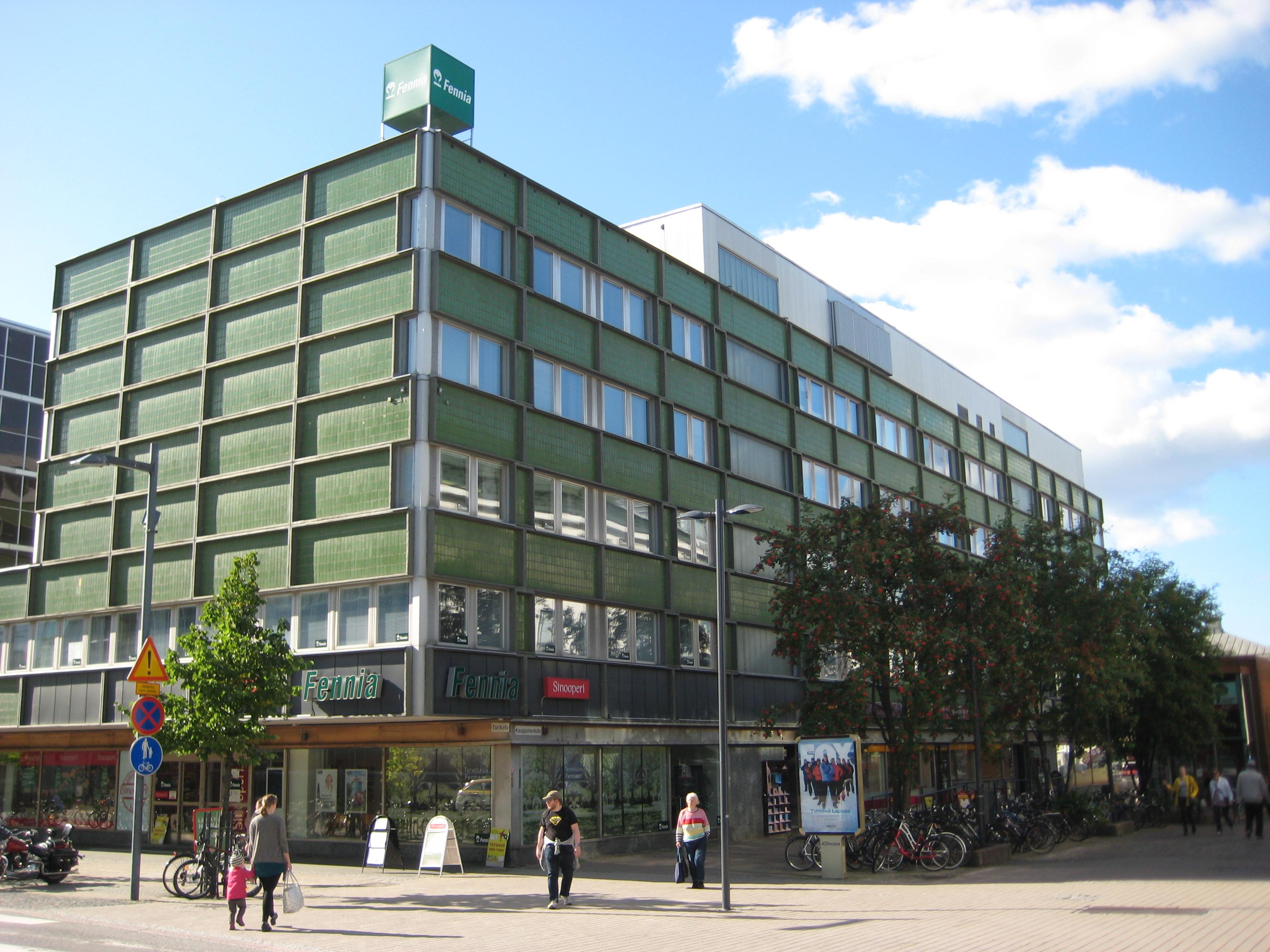 Toimitila, Kauppurienkatu 6-8, Keskusta, Oulu