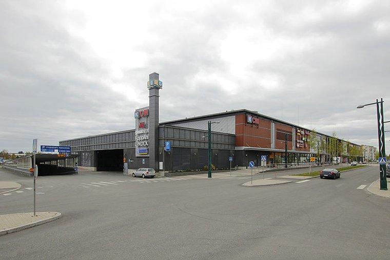 Toimitila, Länsiranta 10, Tornio